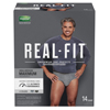 Kimberly Clark Professional Depend® Real Fit® Male Adult Absorbent Pull On Underwear with Tear Away Seams Small / Medium Disposable Heavy Absorbency MON 70243100