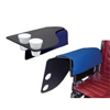 IV Supplies IV Kits Trays: Skil-Care - Wheelchair Flip Tray w/Cup Holder - Right