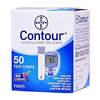 Glucose: Bayer - Blood Glucose Test Strips Contour® TS 50 Test Strips per Box