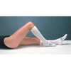 Medtronic Anti-embolism Stockings T.E.D. Knee-high Large, Regular White Inspection Toe MON 72030300