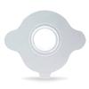 Atos Medical Provox Adhesive Baseplate, Round, Flexiderm, 20 EA/BX (7253) MON 72532100