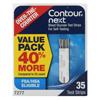 Contour Next Blood Glucose Test Strips, 35/BX MON 1146189BX