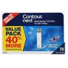 Contour Next Blood Glucose Test Strips, 70/BX MON 1146190BX