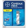 Exam & Diagnostic: Bayer - Blood Glucose Test Strip Contour® Next 50 Test Strips per Box