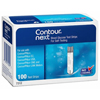 Contour Blood Glucose Test Strips (7312), 100/BX MON 945574BX