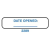 Health Care Logistics Indeed Date Openend Label (2289), 500/RL, 2RL/PK MON 73383200