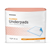 "Underpads 20x22: McKesson - StayDry® Underpad 23"" X 36"" Fluff Disposable, Light Absorbency, 10EA/BG"
