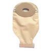 Nu-Hope Labs Ostomy Pouch Nu-Flex® One-Piece System 1-1/8 X 2 Inch Stoma Drainable Oval, Deep Convex, Trim To Fit, 10EA/BX MON 74044900