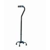 """canes & crutches: Apex-Carex - Quad Cane Aluminum 28 to 37"""" Black"""