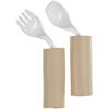 Maddak Pediatric Spoon / Fork Easy Grip Built-up Handle Mauve Plastic MON 74334000