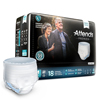 Attends Premier Pull-On Heavy Absorbency Disposable Underwear, Medium, 18/BG MON 74563101