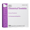 antiseptics: PDI - Obstetrical Towelette Hygea® 5 X 7.88 Inch Individual Packet Disposable, 100EA/BX
