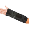 DJO Wrist / Forearm Support Quick-Fit Dorsal Stay, Double-Pull Nylon / Felt Left Hand Black One Size Fits Most, 1/ EA MON 75103000