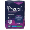 First Quality Adult Incontinent Brief Prevail® PurseReady™ Pull On Large Disposable Moderate Absorbency MON 75133100