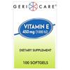 Vitamins OTC Meds Vitamin E: McKesson - Vitamin E Supplement 1000 IU Strength Softgel 100 per Bottle