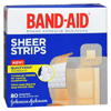 Wound Care: Johnson & Johnson - Band-Aid® Plastic Adhesive Strips, 24 EA/BX, 4 BX/CS
