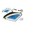 wheelchair accessory: Skil-Care - Seat Cushion Econo-Gel 16 X 16 X 2 Inch Gel / Foam