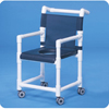 Innovative Products Shower Chair Fixed Arms PVC Mesh Backrest 41 MON 75573300