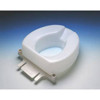 "bathroom aids: Maddak - Raised Toilet Seat Tall-Ette 2"" White"