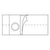 Nu-Hope Laboratories Hernia Belt Medium, Adult 6 Inch MON 76104900