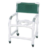 MJM International Shower Chair Deluxe PVC 21 Inch MON 76303300