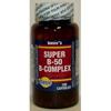 Basics Organics Super B-50 Vitamin, 100 per Bottle MON 76412700