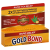 Chattem Itch Relief Gold Bond 1% / 1% Strength Cream 1 oz. Tube (3283934) MON 76552700