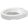 Rehabilitation: Apex-Carex - Raised Toilet Seat - Elongated (FGB32100 0000), 3/CS