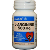 Major Pharmaceuticals L-Arginine Supplement 500 mg Strength Tablet 50 per Bottle MON 76742700