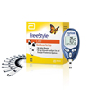 Glucose: Abbott Nutrition - Blood Glucose Test Strip FreeStyle Lite® 100 Test Strips per Box