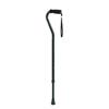 Apex-Carex Adjustable Offset Aluminum Cane, Black MON 78413801