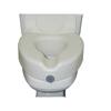 McKesson Raised Toilet Seat sunmark® 5 Inch White 250 lbs. MON 78473500