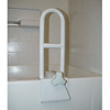 Bathroom Aids Rails Grab Bars: McKesson - Bath Tub Grab Bar sunmark® 6W X 14H Inch White
