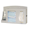 hand sanitizers: Bowman Dispensers - PPE Dispenser Bowman® Floor Stand