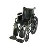 McKesson Wheelchair SunMark® Removable Desk Arms Mag Black 18 Inch 250 lbs. MON 79054200