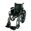 McKesson Wheelchair SunMark® Removable Desk Arms Mag Black 16 Inch 250 lbs. MON 79124200