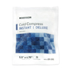 "heat and cold therapy: McKesson - Instant Cold Pack General Purpose Small 5.5"" x 6.75"" Soft Cloth Disposable"