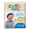 First Quality Youth Training Pants Cutie Pants Pull On 3T-4T Disposable MON 80073100