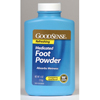 soaps and hand sanitizers: Geiss, Destin & Dunn - Foot Powder GoodSense 4 oz. Scented