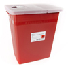 McKesson Sharps Container Prevent® 17H x 15W x 10.25D Inch 8 Gallon Red Base MON 80872801