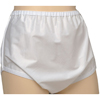 Murray Salk Sani-Pant® Unisex Snap On Nylon Brief, White, Small, 22-28 Inch Waist MON 81018600