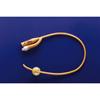 Urological Catheters: Teleflex Medical - Foley Catheter PureGold 2-Way Coude Tip 5 cc Balloon 18 Fr. Teflon Coated Latex