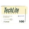 Arkray Lancet TechLite® Adjustable Depth Lancet Needle 2.8 to 3.1 mm Depth 25 Gauge Twist Top, 100EA/BX MON 339828BX