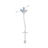 Avanos Medical Sales Gastrostomy Tube with Enfit Connector MIC 26 Fr. Silicone Sterile, 1/ EA MON 1099673EA