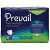 First Quality Prevail® Maximum Plus Absorbency Brief, Large, (45 to 58), 16EA/PK MON 81303101