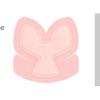 Smith & Nephew Foam Dressing Allevyn Life 9.8 x 9.9 Heel Sterile MON 81342101