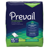 Underpads 23x36: First Quality - Prevail® Fluff Underpad - Large, Printed Bag, 150/CS