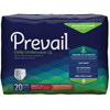 incontinence: First Quality - Prevail® Absorbent Underwear, Extra Absorbency, Medium, 80/CS