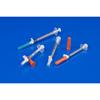 "needles: Covidien - Tuberculin Syringe with Needle Magellan® 1 mL 27 Gauge 1/2"" Attached Sliding Safety Needle, 50/BX, 10BX/CS"