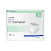 McKesson Ultra Heavy Absorbency Underwear, Large, 72/CS MON 83883100